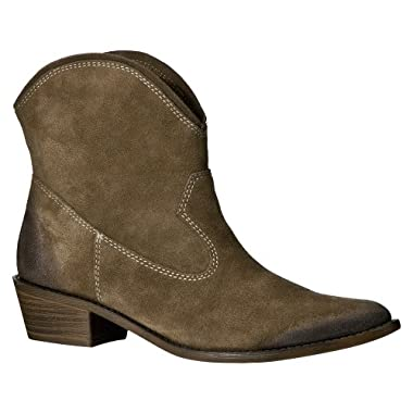 Product Image Women's Mossimo Supply Co. Kalayla Suede Ankle Boots - Tan