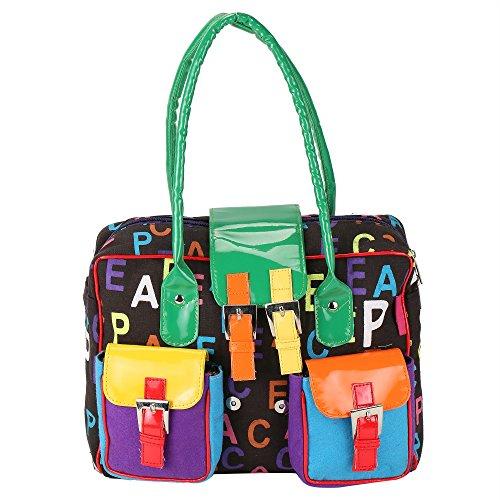 The Jute Shop Handbag (Multi-Color)