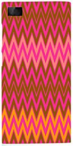 Snoogg Wave Patterns Case Cover For Xiaomi Mi 3