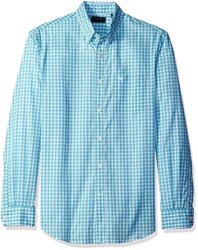 dockers-mens-framed-gingham-long-sleeve-woven-shirt-davenport-blue-medium