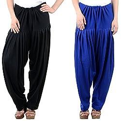 NumBrave Women's Comfort Wool Patiala Salwar