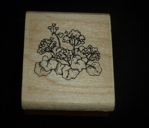 Small Flower Patch Rubber Stamp