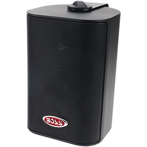 "BOSS AUDIO MR4.3B Marine 4"" 3-way 200-watt Enclosed System Speakers primary"
