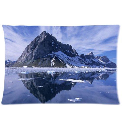 iceberg-background-comfortable-cottonpolyester-pillowcase-pillow-slip-cushion-case-pillow-covertwo-s