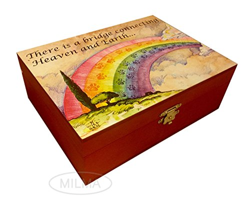 Pet Keepsake Box - Rainbow Bridge Poem (Young Again Dog Food compare prices)