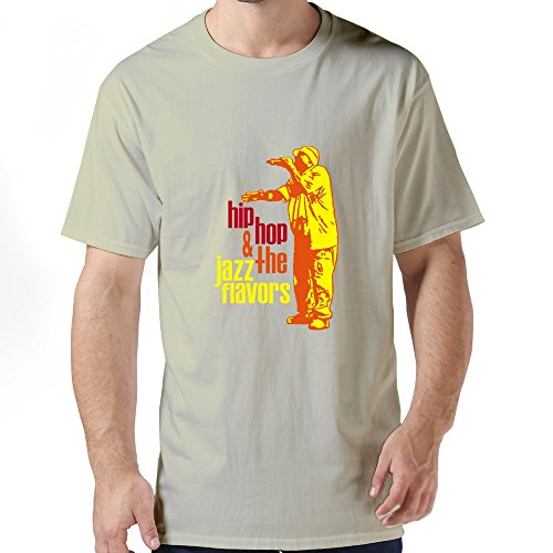 Men'S Hip Hop Customizable X-Small O-Neck Tee Shirt By Dingding