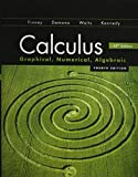 img - for CALCULUS 2012 STUDENT EDITION (FINNEY/DEMANA/WAITS/KENNEDY) WITH MATHMXLFOR SCHOOL 1-YEAR STUDENT REGISTRATION book / textbook / text book