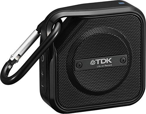 【Amazon.co.jp限定】TDK Life on Record Bluetoothワイヤレススピーカー アウトドアに強い防塵・防滴(IP64相当) NFC対応  TREK Microシリーズ フラストレーションフリーパッケージ (FFP)ブラック AT-A12BK-FFP