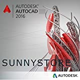 Autodesk Autocad 2016 100% NO LIMITATIONS, ORIGINAL