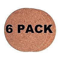 Ikea Cork Trivet Heat 7'(Pack of 6)