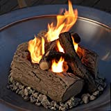 Real-Flame-Outdoor-Log-Set