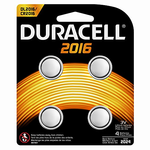 DURACELL Blister de 4 piles 2016 lithium