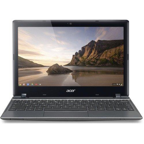 Acer-C7-C710-2847-Chromebook-11-6-Intel-Dual-Core-B847-1-1-GHz-2GB-DDR3-320GB-5400RPM-HDD-Wifi-HDMI-USB3-0-VGA-Card-Reader