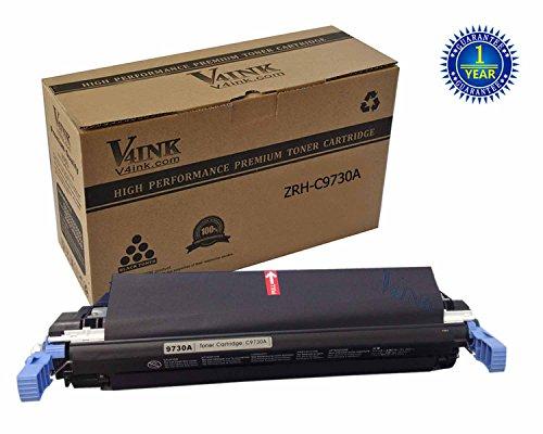 V4INK ® Remanufactured HP C9730A Toner Cartridge-Black for HP Color LaserJet 5500/5500n/5500dn/5500dtn/5500hdn/5550n/5550dn/5550dtn/5550hdn/5550dsn