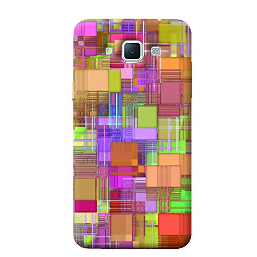 Garmor Abstract Design Plastic Backcover for Samsung Galaxy Grand Max SM-G7200- (Txt 4)