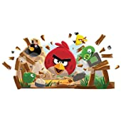 RoomMates Angry Birds Peel and Stick Giant Wall Decals