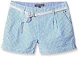 Tommy Hilfiger MONICA GINGHAM SHORT-short Niños    Blau (Blue Bonnet 405) 14 años