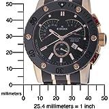 Edox Men's 01503 37RN NIR Class 1 Chronograph Retrograde Watch