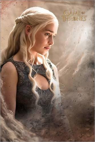 Poster Game of Thrones - Daenarys - manifesto risparmio, cartellone XXL