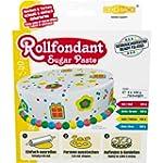 Rollfondant Bunt, 4 Farben, 1er Pack...