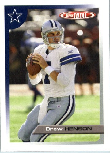 2005 Topps Total Football Karte ( ) # 109 Drew Henson Dallas Cowboys
