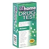 At Home Drug Test, Marijuana, 1 test (Pack of 2)