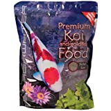 Premium Koi and Goldfish Color Enhancing Fish Food Medium 5 lb.