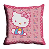 Lali Prints Kitty Digitally Printed Cushion Cover