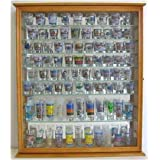 110 Shot Glass Display Case Cabinet Holder Rack