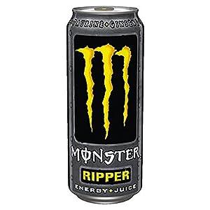 12 dosen a 0 5l monster ripper energy juice drink inc pfand gelb lebensmittel. Black Bedroom Furniture Sets. Home Design Ideas