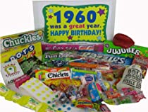 60s Retro Candy Decade Birthday Gift Box JR. - Nostalgic Candy: 1960
