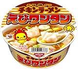 日清チキンラーメンどんぶり えびワンタン 1ケース(12食入)