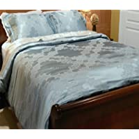 Silk/Cotton Jacquard Duvet Cover Set - Moroccan