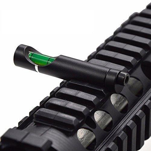 Taskar-Zielfernrohr-fr-Gewehre-mit-integrierter-Wasserwaage-10-cm-11-mm-Prismenschiene