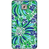 PrintVisa Designer Back Case Cover For Samsung Galaxy J7 Max :: Galaxy J7 Max :: Samsung Galaxy J7 Max G615F (Green Blue White Nature Natural)