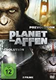 Planet der Affen: Prevolution & Revolution [2 DVDs]