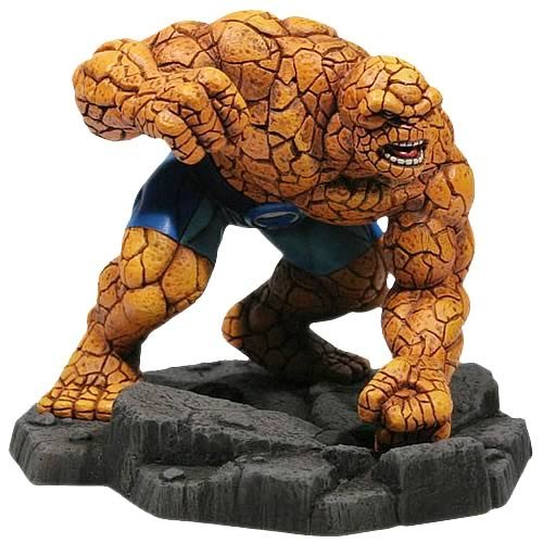 Buy Low Price Corgi Marvel Diecast The Thing 1/12 Scale Statue Figure (B0015MI73Y)