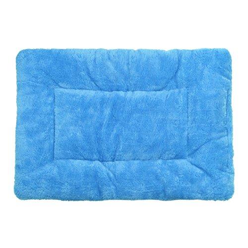 Malloom® Cane Compagnia Gatto Coperta Morbida Stuoia Caldo Pile Copriletto Blu