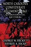 North Carolina Confederate Regiments: 1863: Chancellorsville, Gettysburg