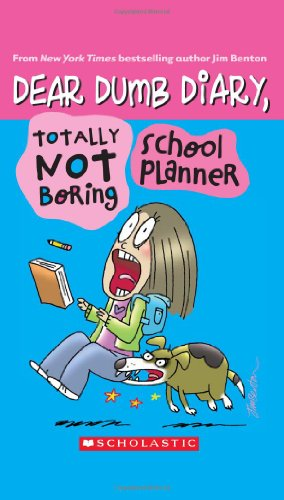 Dear Dumb Diary: Totally Not Boring School Planner front-1005454