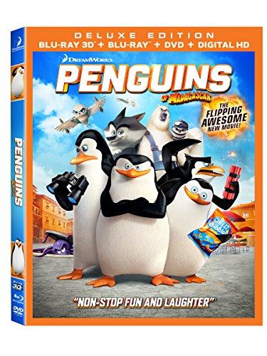 ペンギンズFROMマダガスカル 北米版 / Penguins Of Madagascar [3D+Blu-ray+DVD][Import]