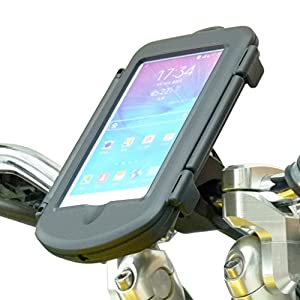 Quick Fix Motorcycle Handlebar Mount for Samsung Galaxy Note 1 2 3 4