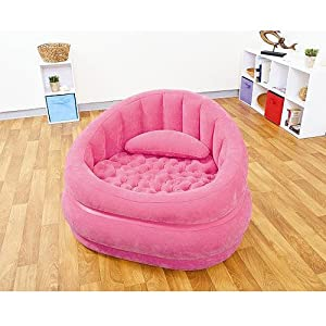 Intex Cafe Inflatable Chair Pink Kitchen