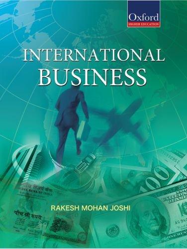 International Business (Oxford Higher Education), by Rakesh Mohan Joshi