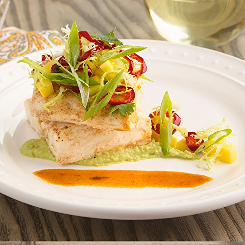 Chipotle-Glazed-Halibut-with-Mango-and-Frisee-Salad-by-Chefd