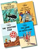 Herge The Adventures of Tintin Original Hardback Collection 3 - 4 Books RRP £43.96 (The Crab with the Golden Claws; The Shooting Star; The Secret of the Unicorn; Red Rackham's Treasure)