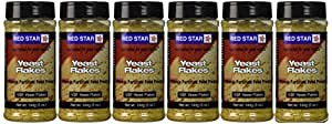 Red Star Nutitional Yeast Nutritional Yeast Vegetablet Support Formula 5 Oz -Pack of 6