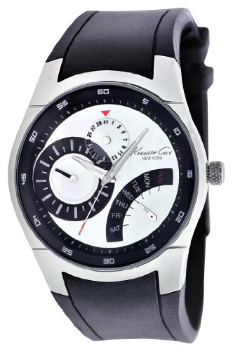 Kenneth Cole Analog Black Dial Men's Watch - IKC1907