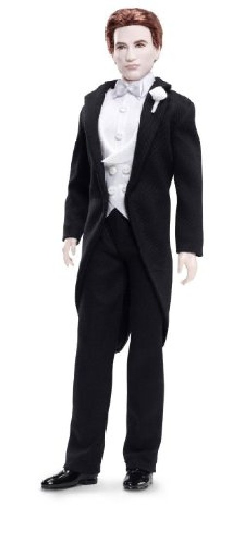 Barbie Collector Twilight Edward Pink label T7652 doll mascot figure fashion günstig kaufen