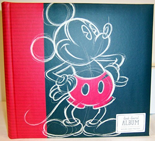 Hallmark Mickey Book Bound Photo Album